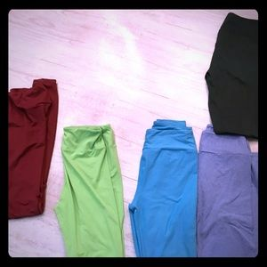 Lularoe leggings, one size -5 pair
